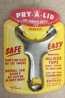 OLD Pry A Lid Jar Tumbler Bottle Opener Top Remover NEW STOCK Vintage Kitchen