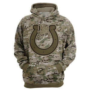Indianapolis Colts Hoodie Hooded Sweatshirt Sports Coat Spring Jacket Fans Gift