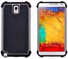 Étuis, housses et coques gris Samsung Galaxy Note 3 en silicone, caoutchouc, gel pour téléphone mobile et assistant personnel (PDA)