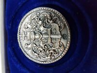 Silver Medal Numbered Zilveren Schutterspenning genummerd