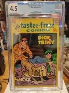 TASTEE-FREEZ COMICS #6 - CGC 4.5 -DICK TRACY Last Issue