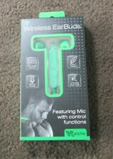 Voltix Bluetooth® Earbuds With Built In Mic New- Green