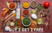 Buy 3 Get 1 Free Whole and Ground Herbs & Spices - Freshest Aroma