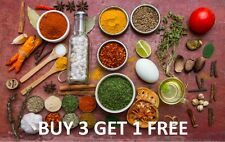 Get 4 Packs for the Price of 3 - Whole Herbs and Spices - Freshest Aroma Flavour