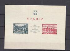 DR, Serbia, Serbien, besetzung, occupation, 1941, block-sheet 2, NG