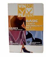 Winsor Pilates Basic 3 DVD Set Mari Winsor Fitness Exercise Workout 3 Workouts