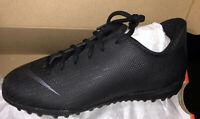 Nike Mercurial VaporX 12 Academy Turf Junior Soccer Shoes AH7342 001 new in box