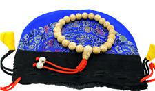 Lotus Seed Tibetan Wrist Mala with Guru Bead for Meditation
