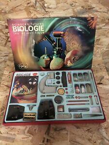Ancien Jeu GEGE Sciences Futures BIOLOGIE Jeu Scientifique + Boîte Vintage