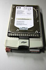 disque dur HP 146,8GB 15000 Trs FC 40pin 2Gbit ref BF1465A477 st3146855fc +caddy
