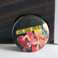 Rare Vintage Pin Metal Pinback 1980s 80s Retro Pop Sigue Sigue Sputnik Band