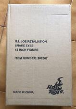 HOT TOYS G.I. Joe Retaliation MMS192 SNAKE EYES 1/6 figure doll GJR SE HASBRO