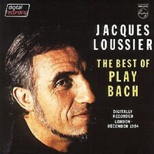 """JACQUES LOUSSIER """"THE BEST OF PLAY BACH"""" CD NEW+"""