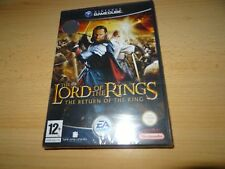 THE LORD OF LOS ANILLOS RETURN OF THE KING NINTENDO GAMECUBE PAL Reino Unido