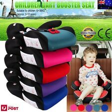 safe sturdy baby kid children toddler car booster seat pad for 3 12 year 15