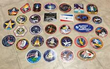 32 Lot NASA Space Shuttle Patch Stickers