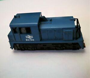 LIMA N GAUGE D2790 DIESEL SHUNTER BR BLUE POSSIBLY MODEL 211?