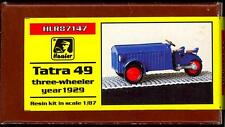 Hauler Models 1/87 Czech TATRA 49 1929 3-Wheel Vehicle Resin Kit