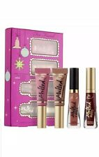 Too Faced Under The Kissletoe The Ultimate Melted Lipstick Set - Boxed & New