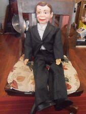 Goldbuger Charlie McCarthy Celebrity Ventriloquist Doll Juro Novelty Co 1977