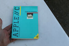 livre informatique apple/c thomas blackadar guide de l'utilisateur