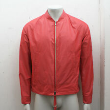 NEW Mens Balenciaga Red Lightweight Bomber Jacket GENUINE RRP: £585 - Size: 48