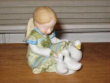 "Holly Hobbie ""Little Things� Miniature Series Iv Porcelain Figurine"