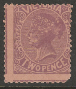VICTORIA - 1908 QV 2d MAUVE - PLATE PROOF RARE - BW states less than 20 known