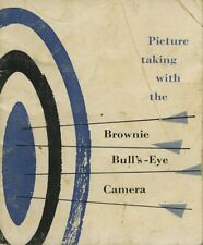 Kodak Brownie Bull's-Eye camera instruction manual 1956