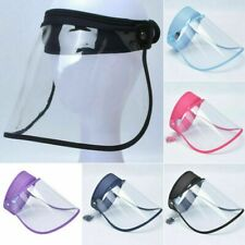 Face Shield Full Face Visor Protection Mask PPE Shield Clear Plastic Transparent
