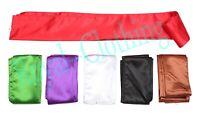 Kung Fu Tai Chi Wushu Silk Satin Sash Belts - 6 Colors
