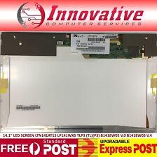"NEW 14.1"" LED SCREEN LTN141AT15 LP141WX5 TLP3 (TL)(P3) B141EW05 V.0 B141EW05 V.4"