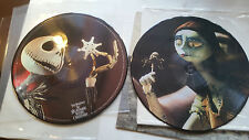 NIGHTMARE BEFORE CHRISTMAS PICTURE DISC 2 LP '03 disney danny elfman tim burton!