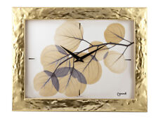 Orologio d'Arredo a muro, Oro e NATURE, Lowell made in Italy, 35x45 cm
