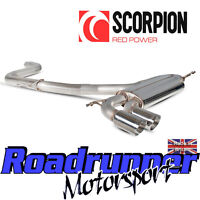 """Scorpion Golf GTI MK5 Exhaust 3"""" Stainless Cat Back System NonRes Louder SVWS042"""