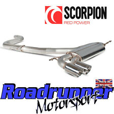 "Scorpion Golf GTI MK5 Échappement Inoxydable 3"" CAT BACK SYSTÈME nonres Louder svws 042"