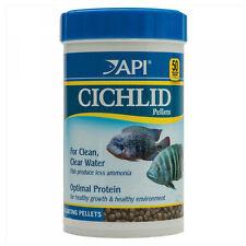 API Cichlid Medium Pellets 184g Nutrition Fish Food for All Types of Cichlids