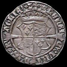 More details for ireland. henry viii, 1509-47. groat, mm. crown. under henry and jane seymour.