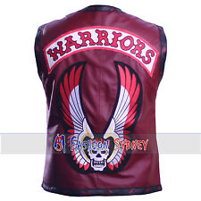THE WARRIORS MOVIE SYNTHETIC LEATHER VEST JACKET  WITH HIGH QUALITY.