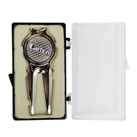 Golf Divot Tool Repair Tool with Magnetic Ball Marker Golf Accessory Gift