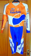 Excellent Cond Rider-émis Rabobank Cycling Skinsuit. AGU SPORT grande taille (taille 4)