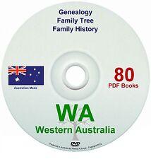 Family History Tree Genealogy Western Australia DVD