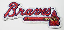 LOT OF (1) MLB BASEBALL ATLANTA BRAVES EMBROIDERED NAME PATCH PATCHES ITEM # 54