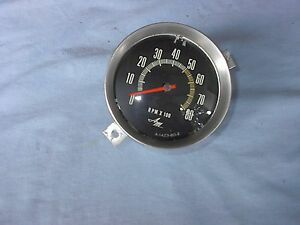 Amc javelin amx 8 grand in dash tacometer  69 68 amc very very good condition