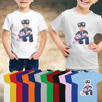DAN TDM- Kids Children Fun Girls Boys Minecraft Gamers T-Shirt-UM105