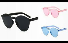 New Fashion Round Women's Sunglasses Vintage Style Colourful Shades