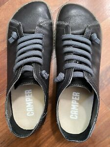 Camper Peu Black Sneakers Womens 37