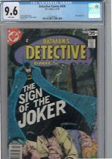 detective comics 476.cgc 9.6