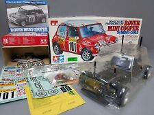 Partial Built Tamiya 1/10 Rover Mini Cooper 94' Monte Carlo # 58163 M01 Chassis