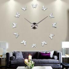 Modern Large Wall Clock 3D DIY Home Decoration Living Room Bedroom Kitchen